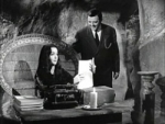 The Addams Family (1964) Morticia, the Writer