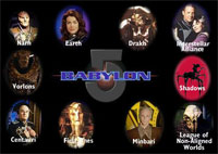 Babylon 5 Cast Gallery